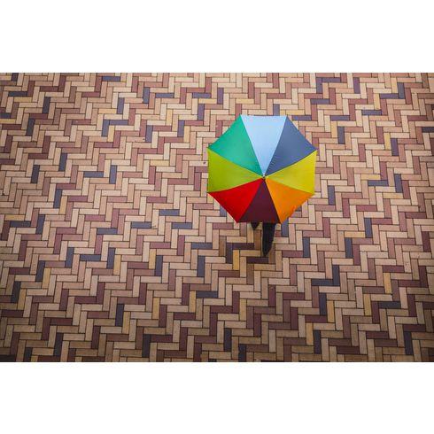 Colorado Rainbow sateenvarjo