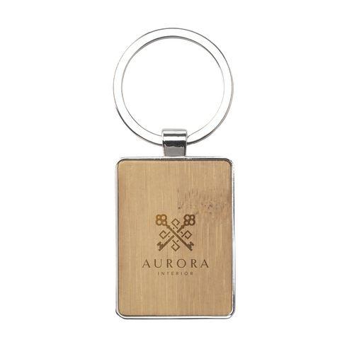 Bamboo Key Rectangle avaimenperä