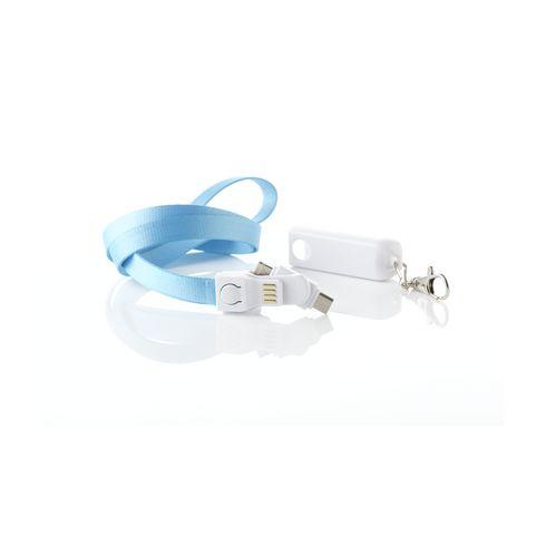 Promo-kaulanauha kolme yhdessä -USB-sovittimella