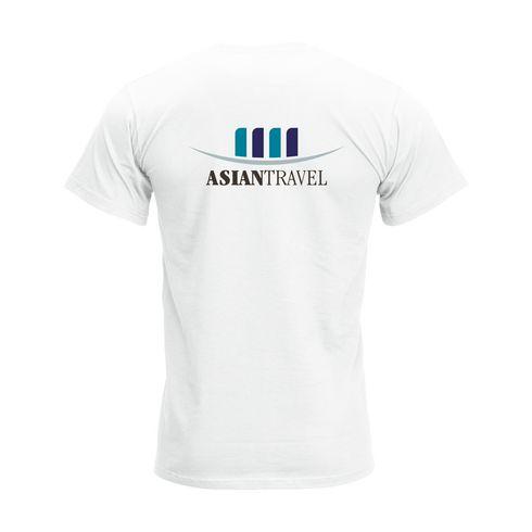 Fruit Valueweight V-Neck T-shirt miehet t-paita