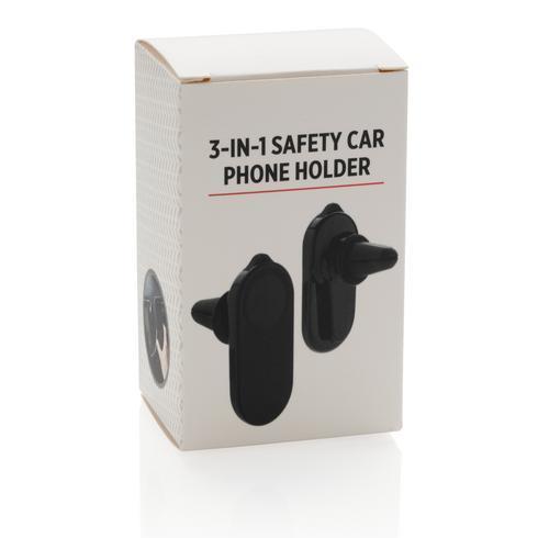 Puhelinpidike autoon turvatoiminnoilla