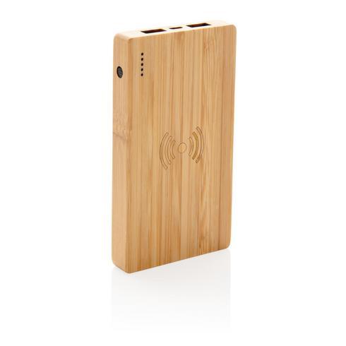 Bamboo 4000 mAh:n langaton 5W varavirtalähde