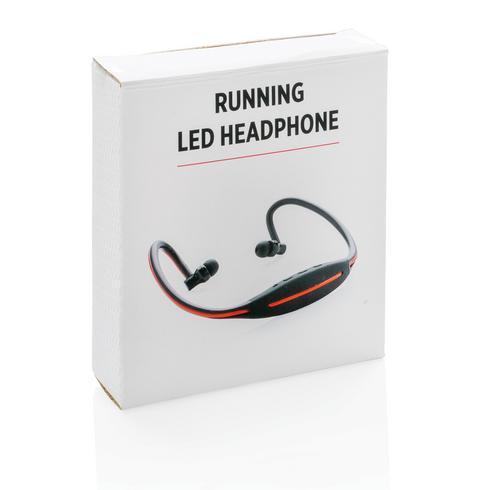 LED-kuulokkeet juoksuun