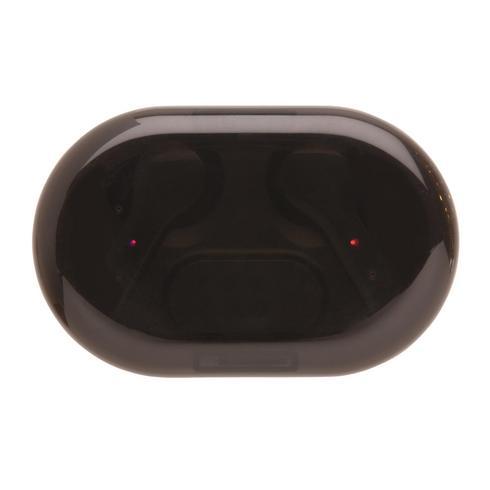 Light up logo TWS -kuulokkeet latauskotelossa