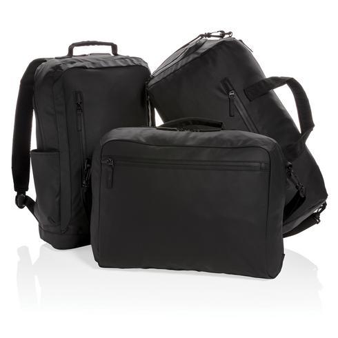 """Musta PVC-vapaa 15,6"""""""" Fashion-laptopreppu"""