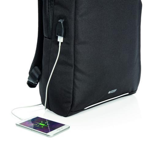 Swiss Peak RFID USB -laptopreppu - PVC vapaa