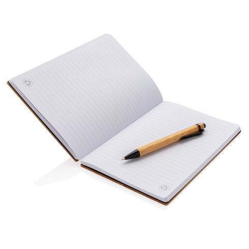 A5-bambumuistikirja- & kynäsetti