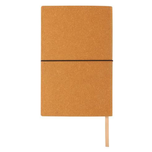 Kierrätetty nahkainen A5-muistikirja