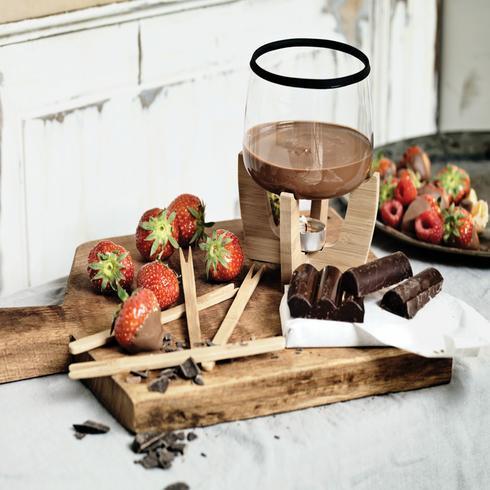 Cocoa-suklaafonduesetti