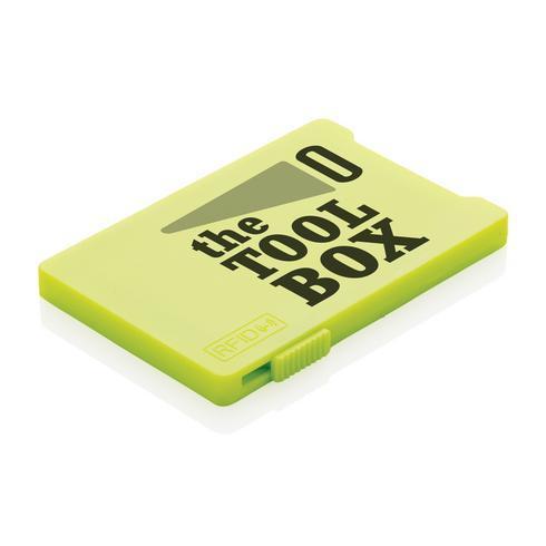 Kortinpidike RFID anti-skimming suojalla